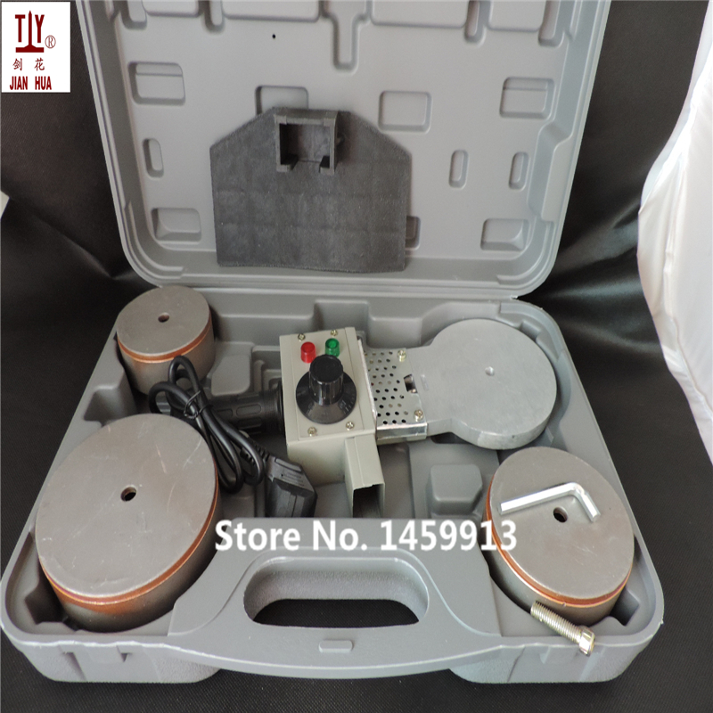 Free shipping DN75-110mm plastic pipe welder Temperature controled PPR Welding Machine AC 220V 1200W with thick plastic box 100g vitamin b2 riboflavin food grade usa imported