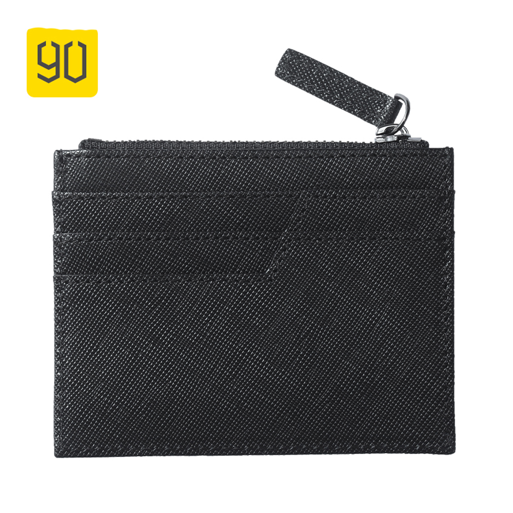 Xiaomi 90 Fun Business Coin Purses Women Pocket Money Bag Holder Credit Card Package Thin Cow Leather Wallet Small Change Purse hot sale owl pattern wallet women zipper coin purse long wallets credit card holder money cash bag ladies purses