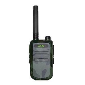 Image 5 - 100% Original  WLN KD C10 uhf 400 470MHz 16Channel mini two way radio FMR PMR walkie talkie KDC10