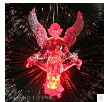 angel christmas angels christmas tree hangings christmas decoration angel christmas tree color lights angelitos navidad cm05