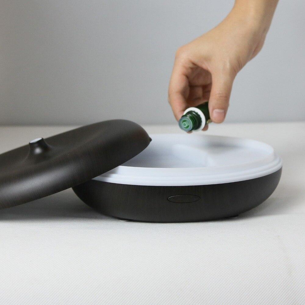 Aromacare 400ml barvit spreminjajoč se lahki lesnozrnati vlažilnik - Gospodinjski aparati - Fotografija 6