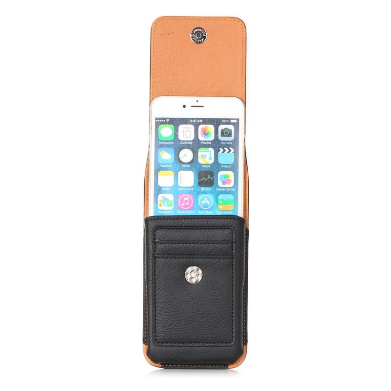 Univerzális derék pénztárca mobiltelefon táska kültéri PU bőr - Mobiltelefon alkatrész és tartozékok