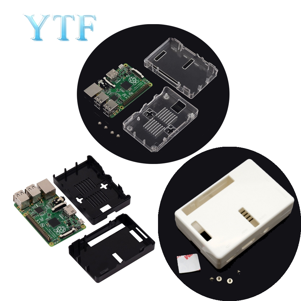 Raspberry Pi 3 Model B Case Case Tranparent ABS Enclosure Box Shell For Raspberry Pi 3/2