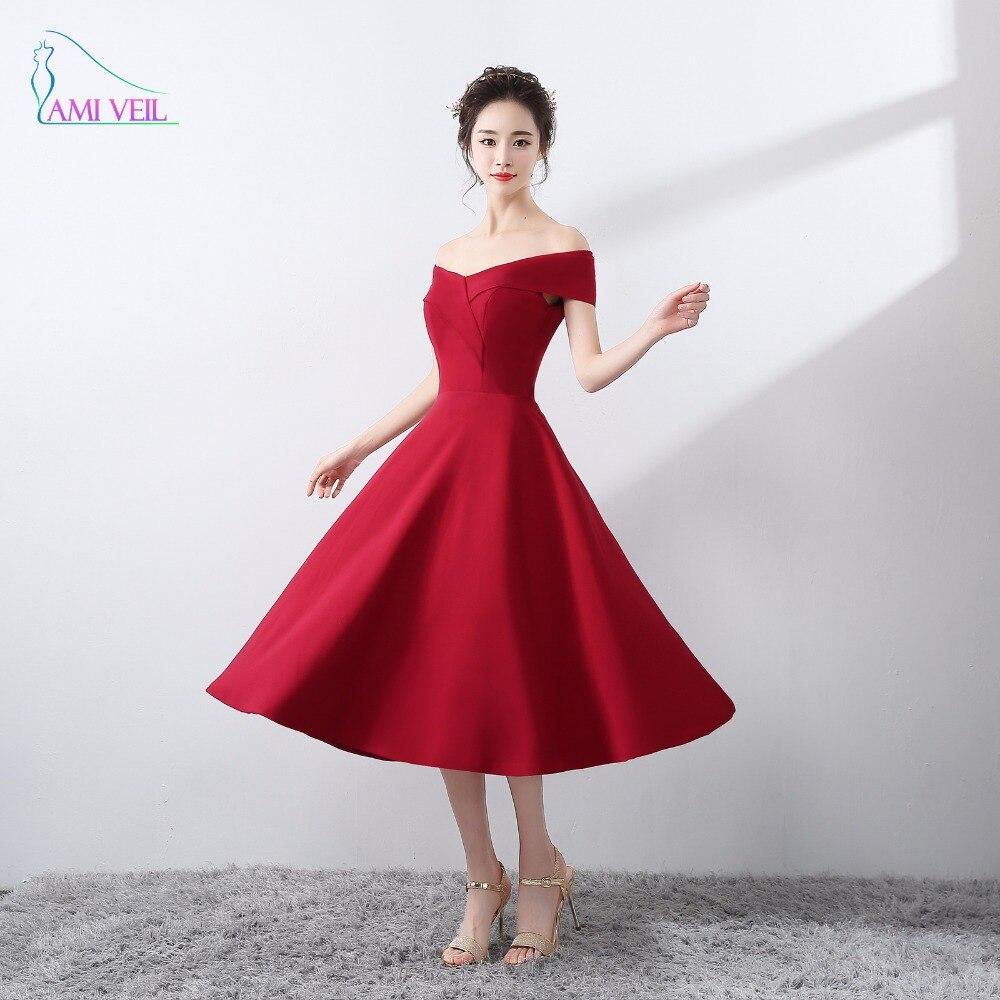 2017 Robe De Soiree Red Beading Slit Short Evening Dresses ...