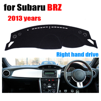 Car Dashboard Covers For Subaru BRZ 2013 Years Right Hand Drive Dashmat Pad Dash Cover Auto