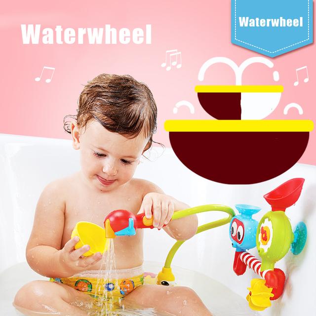 Brinquedos para o banho de Água Da Torneira Torneiras Sustentada Chuveiro Spray de Água Bico Para O Bebê