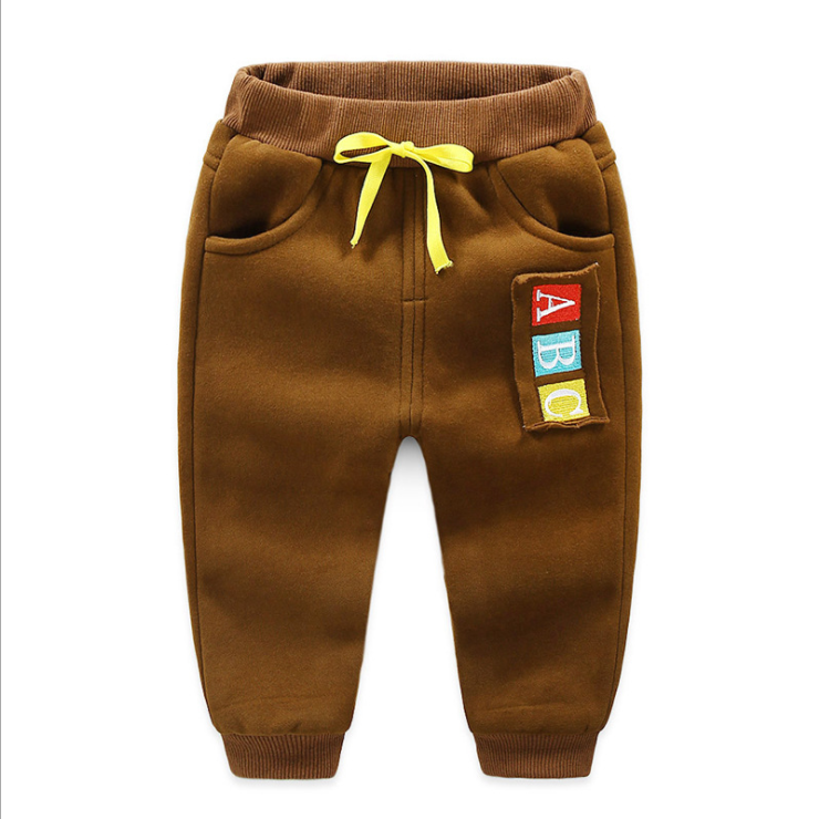 JGVIKOTO Kids Sports activities Pants Winter Child Boys Woman Heat Plus Thick Velvet Pants Chlidren Leggings Winter Colourful Pant HTB1HE PhhuTBuNkHFNRq6A9qpXaU