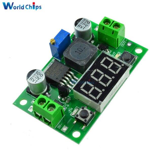 lm2596s dc dc lm2596 voltage regulator led voltmeter buck step rh aliexpress com