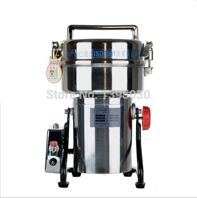 1 Stück 800g Schaukel Vollen Edelstahl Grinder Gristmill Kaffee Pfeffer Lebensmittel Schleifen Maschine Bequem Zu Kochen