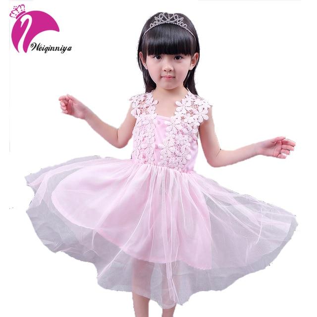 Niñas Vestido de La Princesa Niños Vestidos de Diseño de Encaje ...