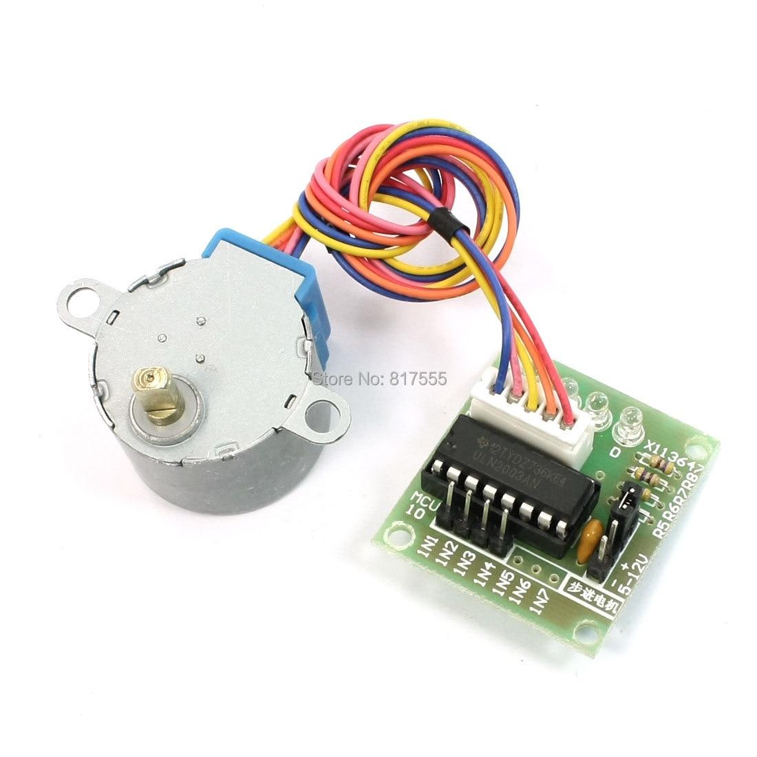 medium resolution of mcu diy 4 phase 5 wires stepper motor 5v with ul2003 driver board stepper motor wiring 4 stepper motor wiring 5 wire
