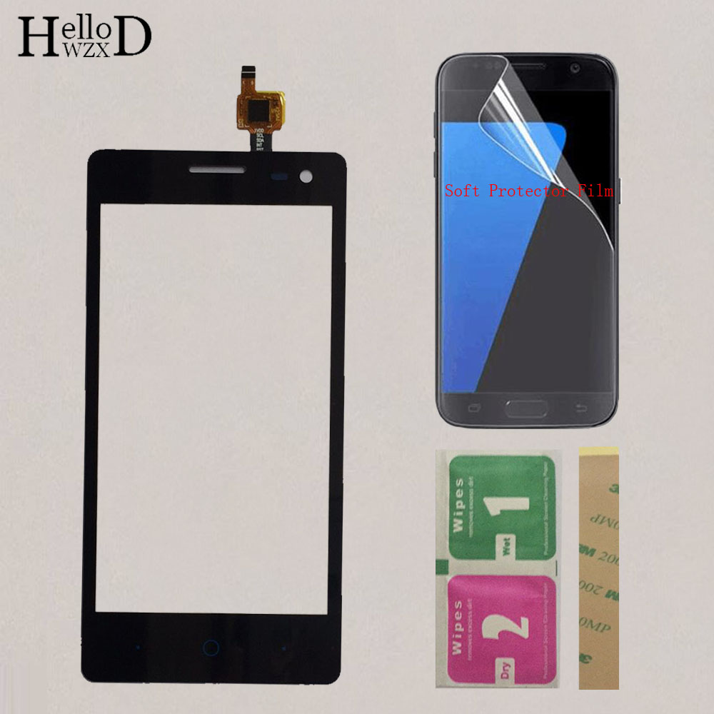 4.5'' Touchscreen Touch Screen For ZTE Blade GF3 Touch Screen Digitizer Sensor Front Glass Touch Panel Repair + Protector Film