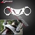 Silver Motorcycle CNC Front fork Shock Absorber balance brace For Honda CB400 SF 1992-1998 1999-2001 2002-2009 CB1000 2003-2006
