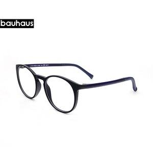 Image 3 - Bauhaus 5 lentes diseño italiano gafas de sol magnéticas Clip hombres conducción nocturna Clip de espejo gafas de sol mujeres miopía gafas