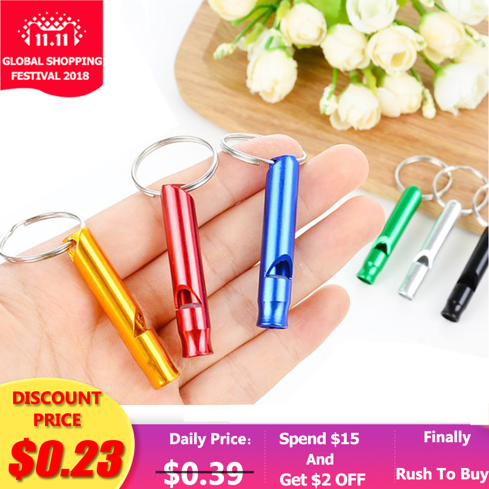 Train Whistle Outdoor Camping Edc-Tools Hiking Aluminum 1pcs Small-Size