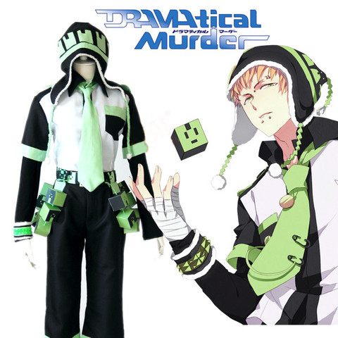 Dramatical Murder Cosplay DMMD Clear Costume Full Set High Quality Anime Clothes