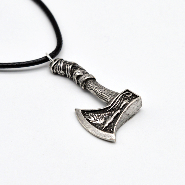 genja steel grimfrost products pendant axe stainless