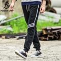 Pioneer camp 2017 otoño pantalones de chándal hombres de la marca ropa de moda elásticos pantalones casuales pantalones de fitness pantalones masculinos pantalones sueltos 520104