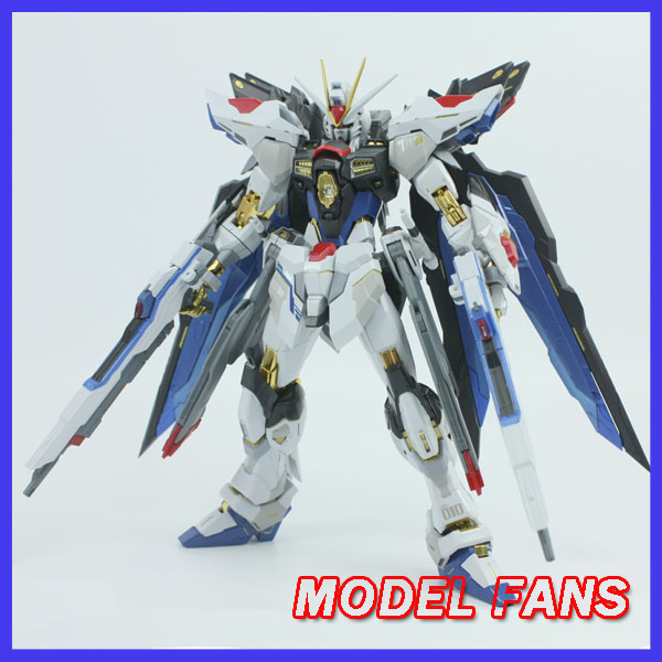 MODEL FANS IN-STOCK metalclub Metalgearmodels metal build MB Gundam strike freedom contain light wing high quality action figure цены