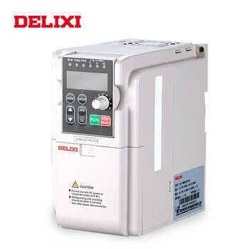 DELIXI AC 380V 3.7KW 3 phase input frequency inverter drives VFD for motor Speed Control 50HZ 60HZ DC frequency converter - DISCOUNT ITEM  7% OFF All Category
