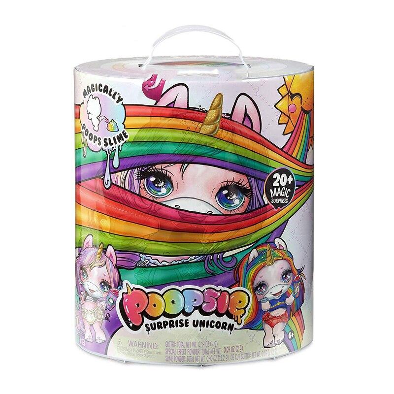 Poopsie Slime Surprise Unicorn-Rainbow Bright Star or Oopsie Starlight toys скуби ду лего
