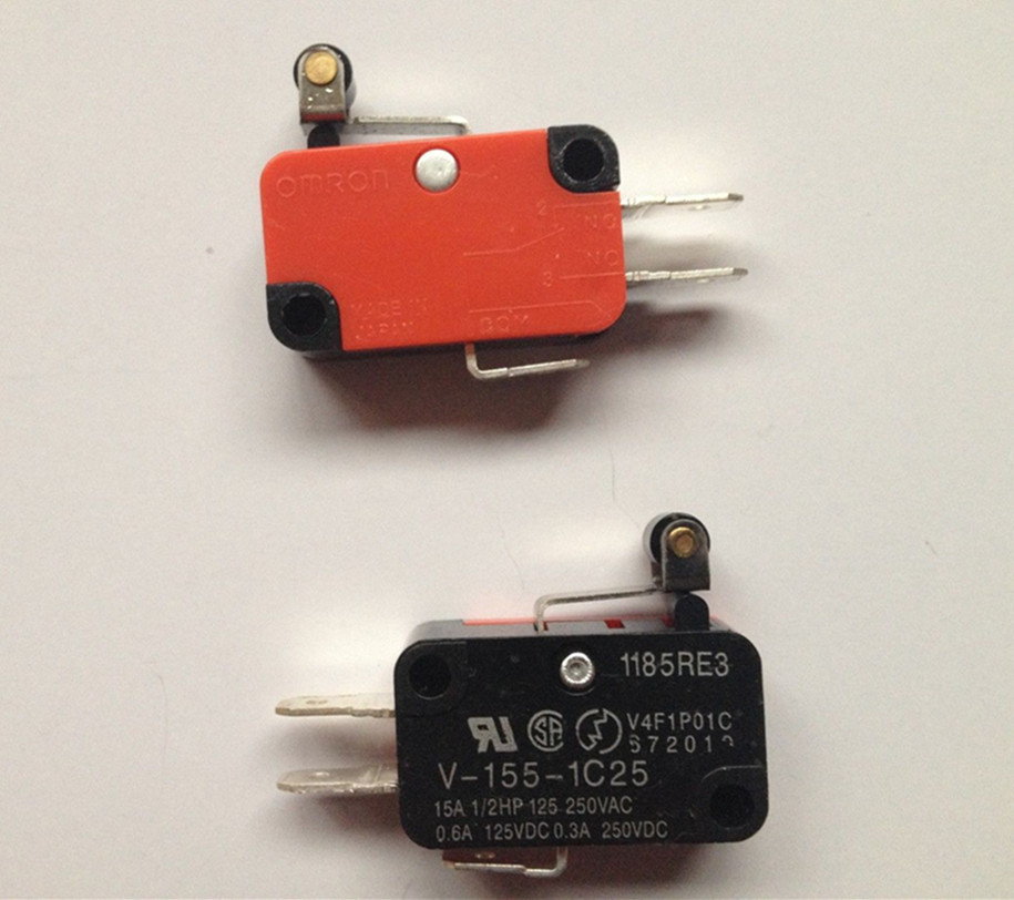 100x  Momentary Limit Micro Switch V 155 1C25 SPDT Snap Action Switch Roller-in Switches from Lights & Lighting    1