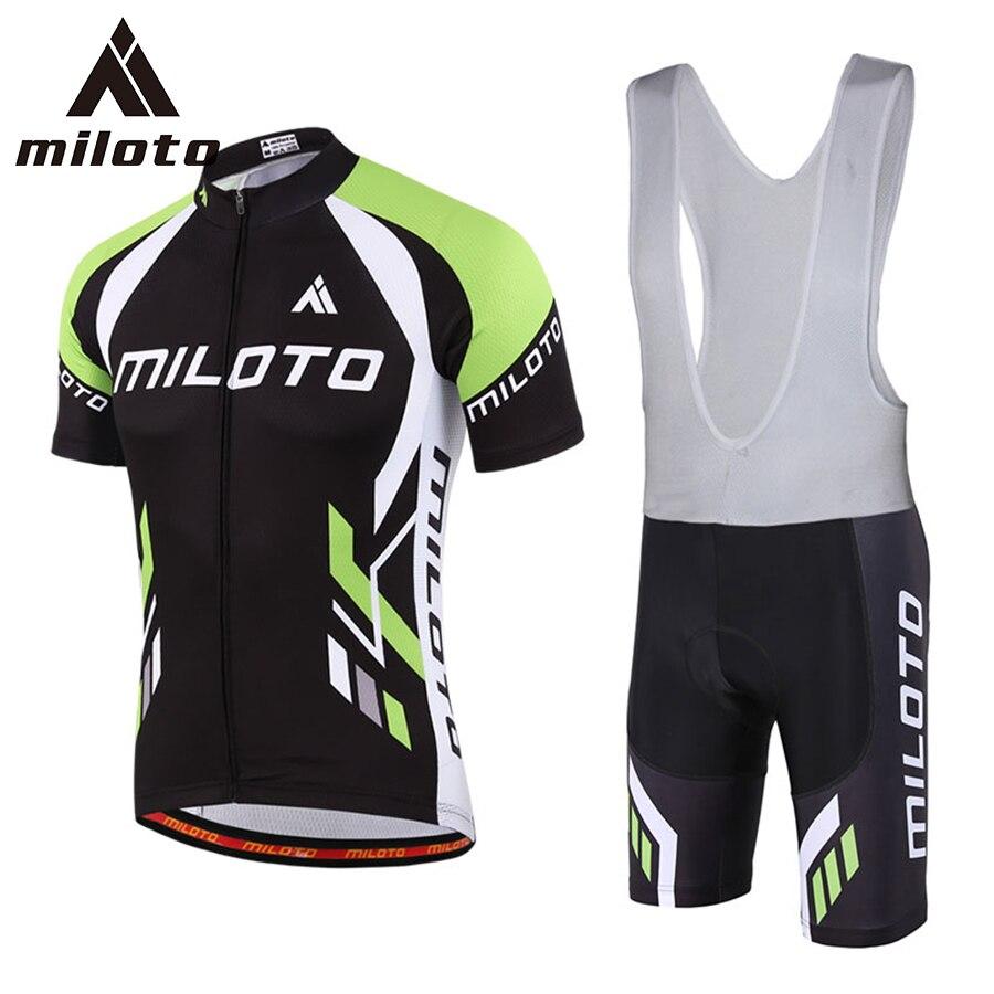 c8dad27ded 2017 miloto hombres del verano Camisetas de ciclismo manga corta ropa  ciclismo color negro xxs-5xl Ciclismo ropa Bicicletas ropa