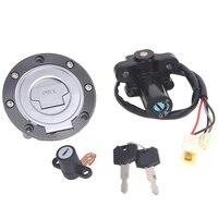 Ignition Switch Gas Cap Seat Lock Key For Yamaha MT03 06 12 YZF R6 99 05 FZ6 XJ6