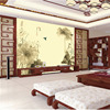 Custom 3D Print DIY Fabric Textile Wallcoverings For Walls Wallpaper Matt Silk For Living Room Flowers