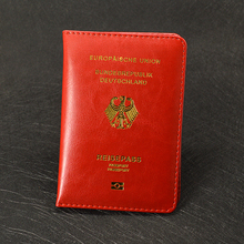Passport Cover Soft Pu leather New Holland Women Covers For Passport Holder