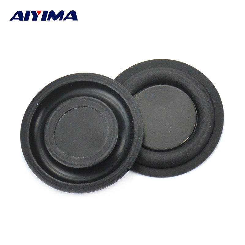Aiyima 2Pcs 35mm Loudspeaker Bass Vibrating Diaphragm Passive Plate/SoundBox Radiator Speakers