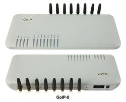 GoIP 8 ports voip gsm gateway/voip sip gateway/IP GoIP 8 GSM Gateway/ High quality - special price