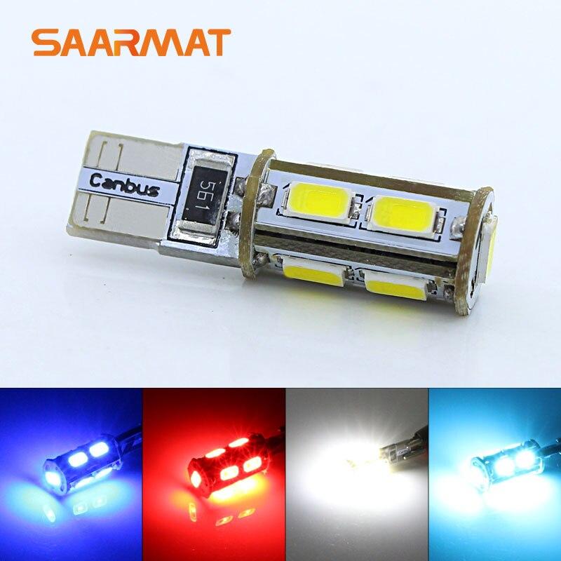 ⓪2 T10 w5w 194 168 luces de estacionamiento luz de la cuña lámpara ...
