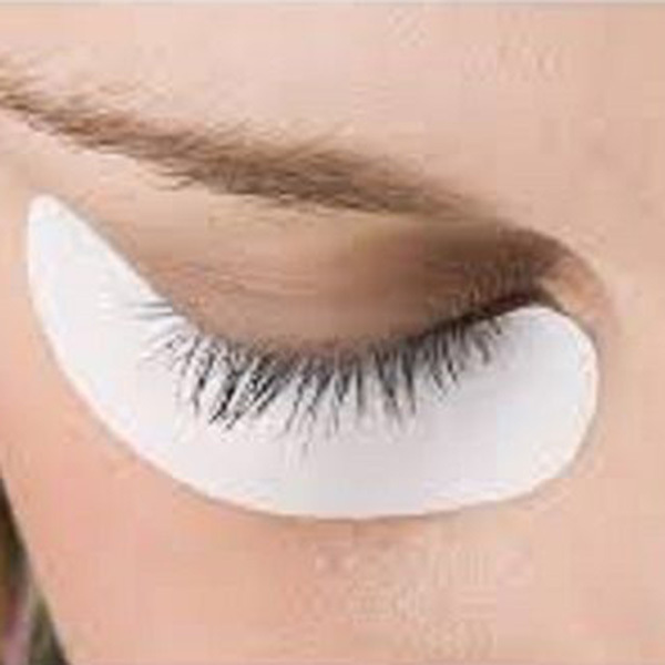 10 PCS Under Eye Crescent Curve Lint Free Gel Patch Eyelash Pad Lash Extension Beauty Tool
