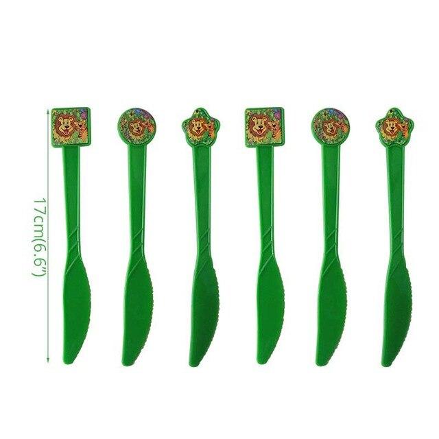 6pcs knife Monkey 1st birthday decorations 5c64f9ae5e140