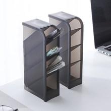Pen-Holder Office Desktop-Storage-Box Multi-Function School 4-Grid Simple