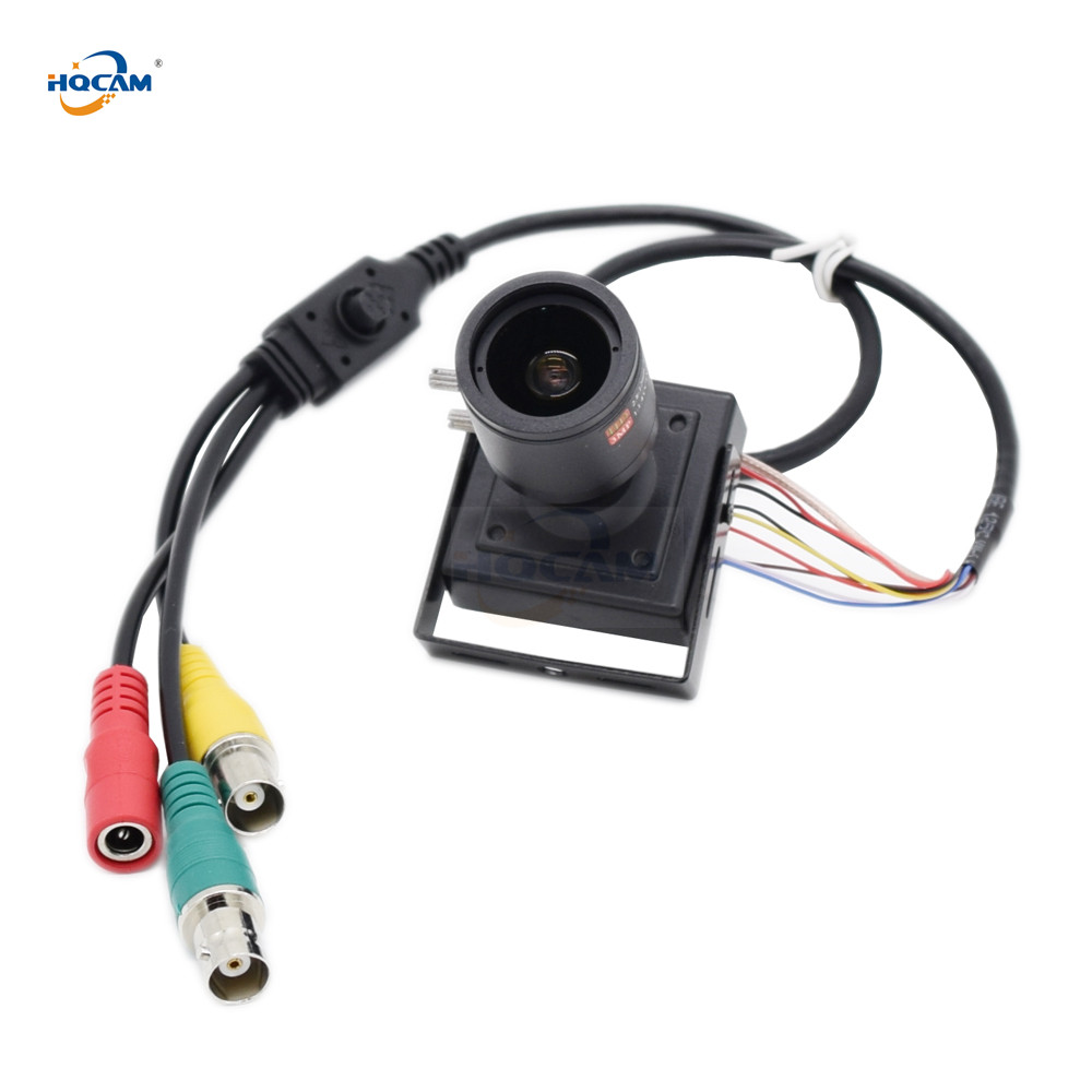 HQCAM SDI AHD TVI CVI CVBS 1080P Mini SDI Camera 1 3 inch K9 IMX291 scan