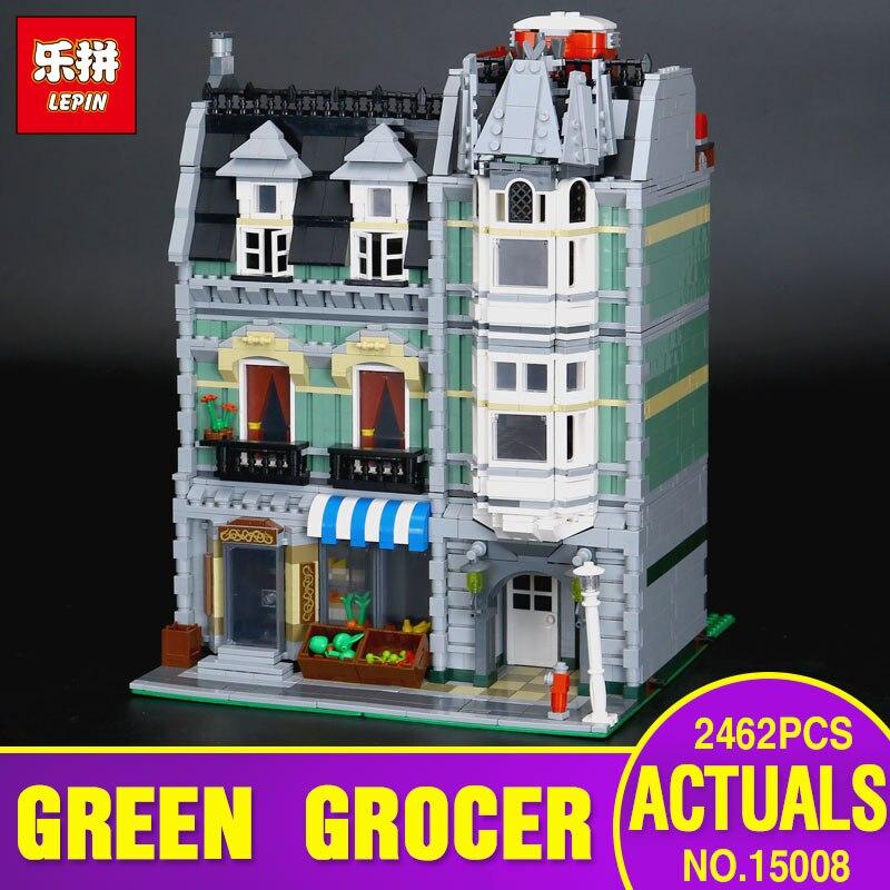 LEPIN 15008 2462pcs Educational Children series the Green Grs
