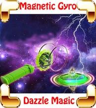 Рождественский Подарок Dazzle Магнитного Гироскопа Мигающий Магия Волчок Электрические Игрушки Для Мальчиков Трюк Горячее Колесо Гибкость Игры Игрушки