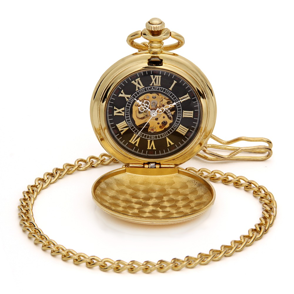 56d65c89a66 -Pop o caso em aberto e no interior é um tom Dourado clássico artística 12  disca o número romano com ver ...