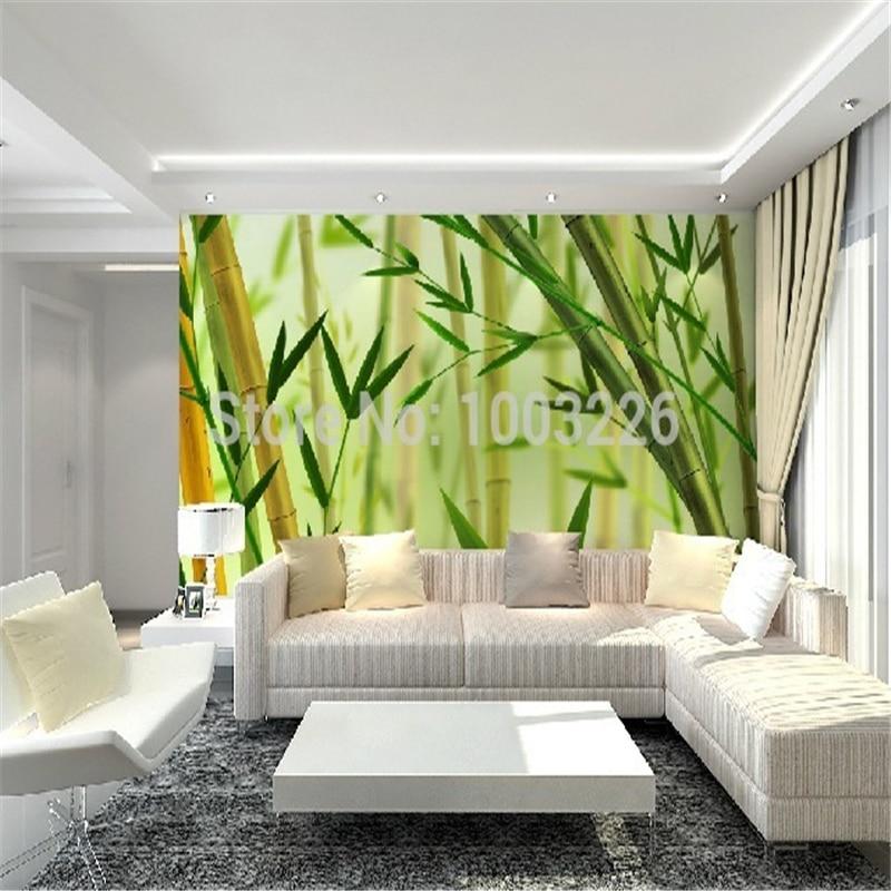 Compra murales de bamb online al por mayor de china for Murales de papel para pared