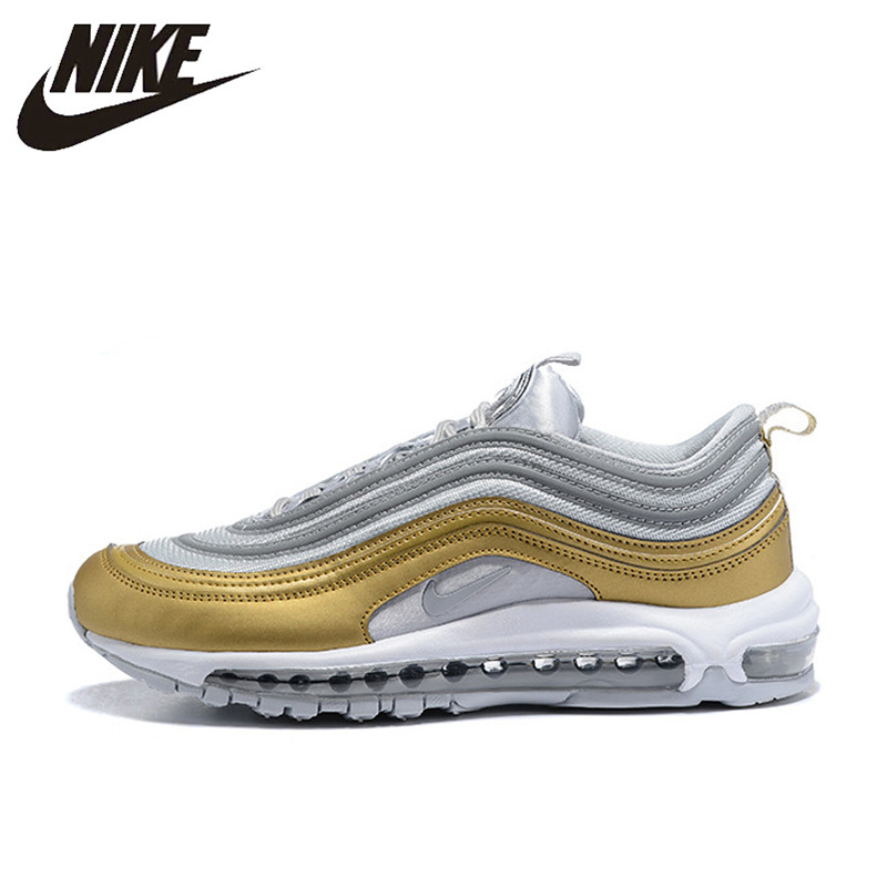 New Official Original Nike Air Max 97 OG 2018 RELEASE Men's Running Shoes,Official New Arrival Outdoor Sports Shoes AQ4137 001
