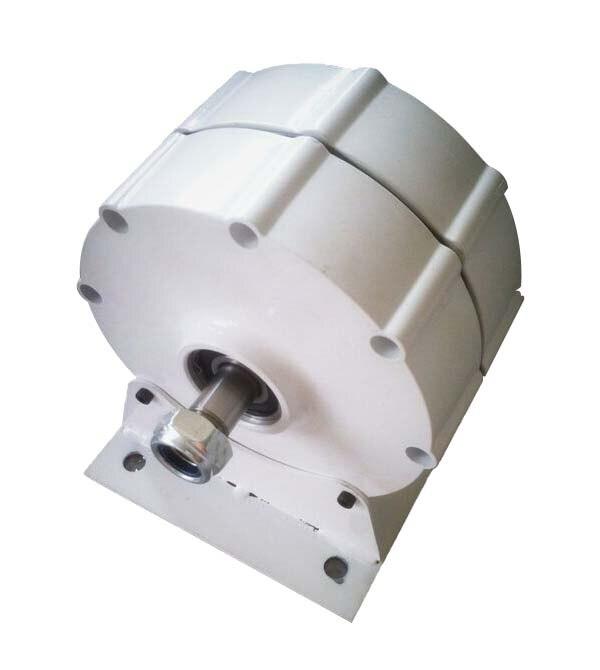 Generator 500w / 600w 12v/24v/48v ac low speed permanent magnet alternator with base optional