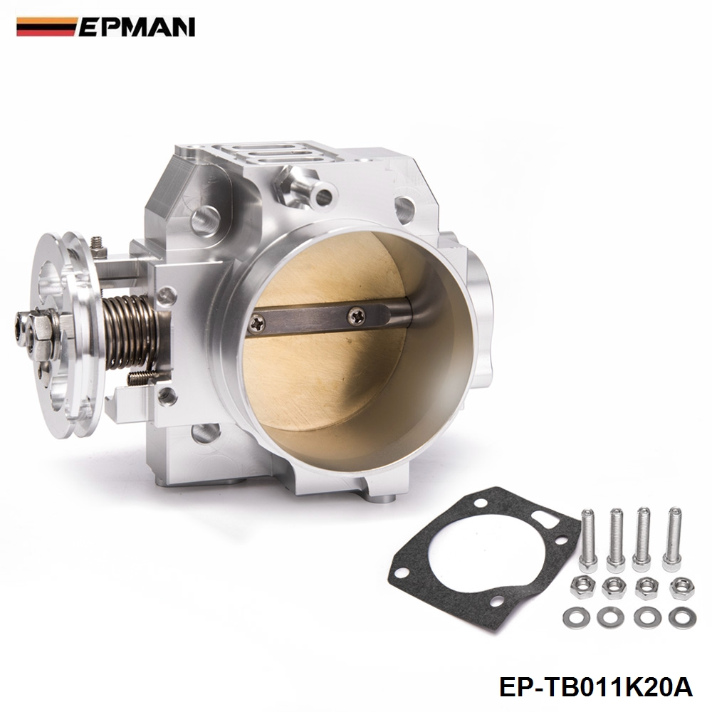 70mm High Performance Racing Throttle Body For Honda Acura K Series Engines Only EP TB011K20A