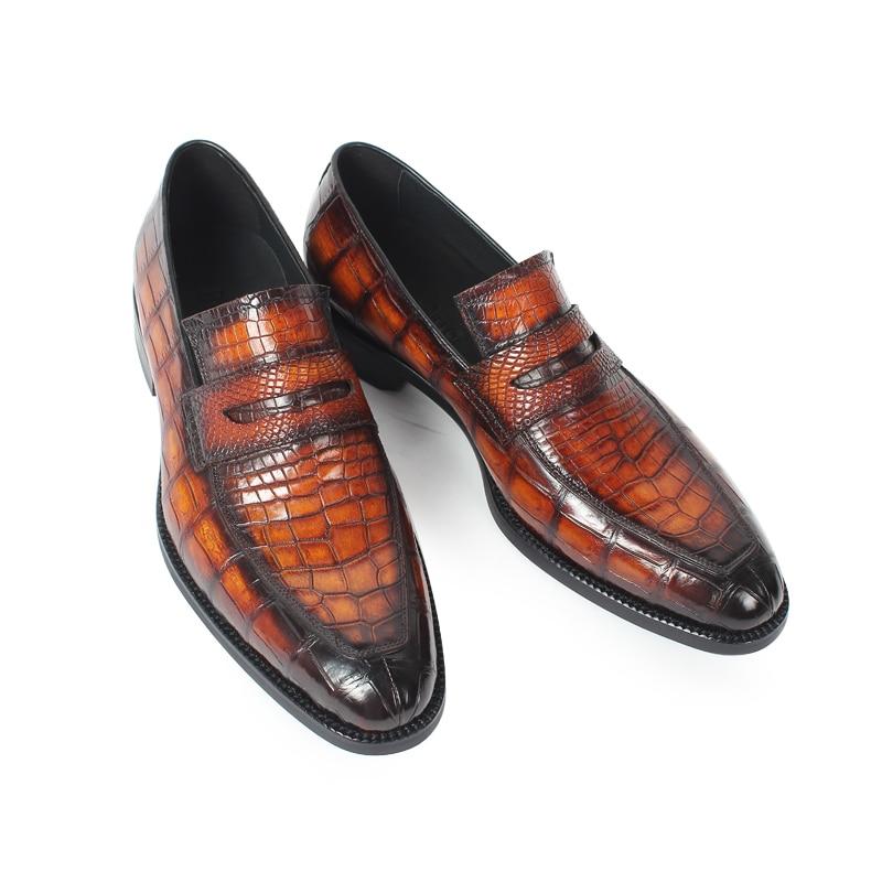 Alligator Slip-On Shoes 3