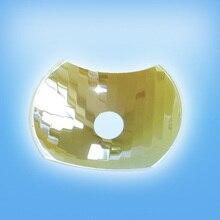 Высококачественный Стоматологический светильник, Стеклянный Отражатель LSM Celux Cristal Lampara, квадратный отражатель галонгеновых стоматологических ламп