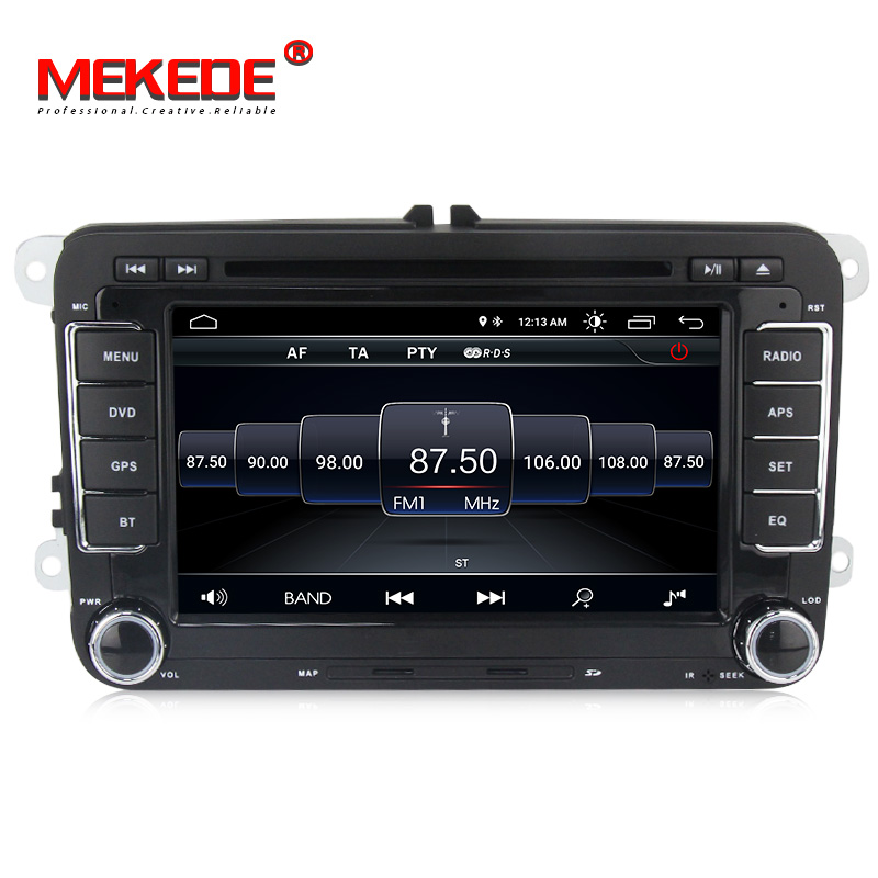 Lecteur Autoradio multimédia voiture MEKEDE Android 8.1 Autoradio pour Golf/6/Golf/5/Passat/b7/cc/b6/SEAT/leon/Tiguan/Skoda/Octavia - 3