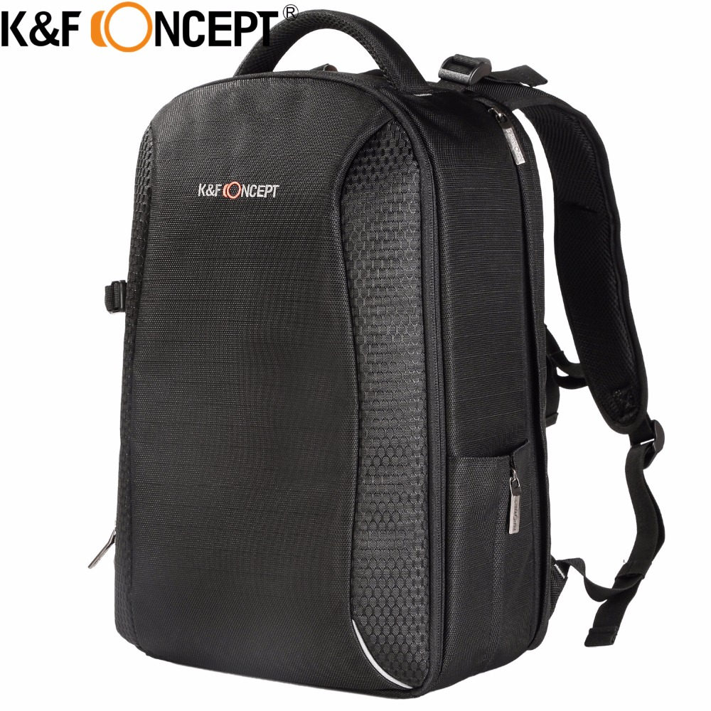 K&F CONCEPT Classic Camera Backpack Large Capacity Travel Bag Case Side Compartments Tripod Holder 14 Laptop for Camera аквабокс aquapac large vhf classic case 248