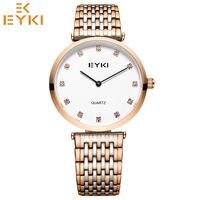 EYKI Luxury Top Brand Men Watch Fashion Ladies Bracelet watches Quartz Movement Waterproof relogio masculino horloges vrouwen