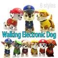 Curta Barking Musical robô cão eletrônico pet brinquedos interativos animais de brinquedo de pelúcia de presente de natal para crianças